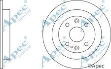 Arrière Disques De Frein (Paire) pour Mazda MX-3 Genuine APEC DSK623