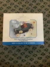 Hallmark Ornament 1931 Ford Model A Roadster die-cast Vintage Collector's Series