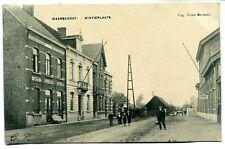 CPA - Carte Postale - Belgique - Waarschoot - Statieplaats - 1907 (BR14349)