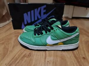 Nike Dunk Low SB Tokyo Taxi Green Skate Shoes Sneakers Travis Scott