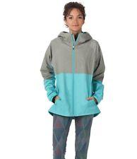 Burton Berkley Women's Rain Jacket Lichen Green Heather Everglade M RRP £125