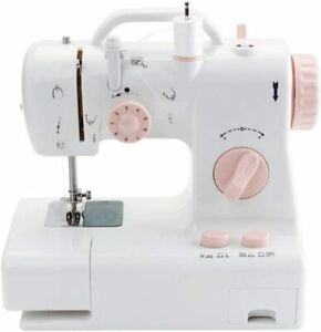 Mini Sewing Machine - Electric Sewing Machine with Foot Pedal and Built-in Light