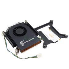 Ultrathin 21mm Turbo Fan CPU Radiator Cooler 1150 1155 1156 /2 Copper Heat pipes