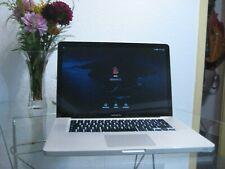 """MacBook Pro 15"""" mitte 2012 intel core i7 16 GB RAM 500GB SSD"""