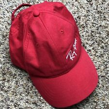 Ray Ban Sunglasses Red White Embroidered Adjustable Strapback Hat Ball Cap