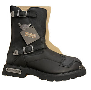 Harley-Davidson D93521 Men's Stroman 11 Size Motorcycle Boots - Black