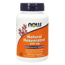 Now Foods   resveratrolo naturale  200mg  120 capsule