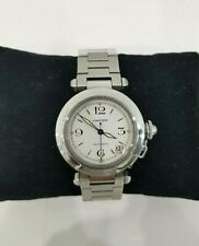 Cartier Pasha C Ref#2324 Stainless Steel White Dial 35mm