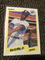 Fleer '90 1990 Ken Griffey Jr Card #513 Seattle Mariners MINT Condition!!