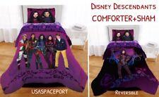 Disney DESCENDANTS 2 Movie Twin-Single COMFORTER+Pillow SHAM SET Full/Double Bed
