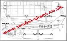 Modelhob Star perfil Stunt Modelo planes