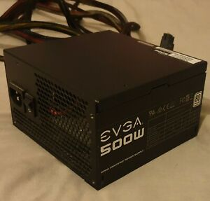 EVGA 500-Watt Gaming PC PSU Power Supply 80 Plus Rated