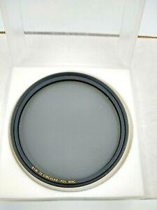 B+W 72 Circular Pol MRC Lens Filter 72mm F-Pro Thick Rim Germany