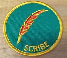 BOY SCOUTS SCRIBE  PATCH  NEW