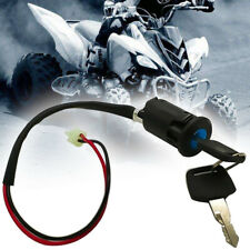 Ignition Key Switch Moped Electric Motorcycle 2 Wire On/Off  ATV Dirt Bike