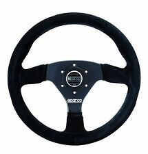 SPARCO RACING R383 R 383 SUEDE STEERING WHEEL 330MM COMPETITION DISHED CONCAVE
