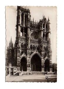 France - Amiens, La Cathedrale - 1944 Postcard