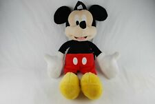 🔶 Disney Mickey Mouse Kids Plush Doll Backpack Microfiber Large