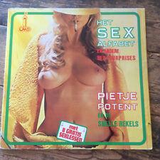 PIETJE POTENT Het Sex Alfabet (DUTCH X-RATED GF COVER VINYL NUDE CHEESECAKE)