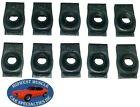 Nosr Ford Mercury Body Fender Frame Grille 516-18 Bolt U Clip Panel J Nut 10p H