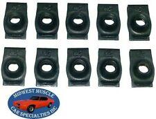 NOSR Ford Mercury Body Fender Frame Grille 5/16-18 Bolt U Clip Panel J Nut 10p H