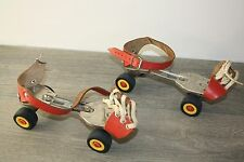 Adjustable children's roller skates 70s Germina Verstellbare Kinder Rollschuhe