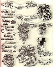 Habico imágenes de boda 1 conjunto de sello claro [No.2]