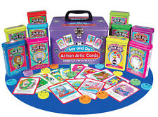 Say & Do Action Artic Cards Combo Flash Cards Super Duper Speech Vocabulary