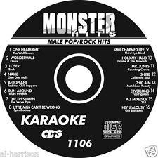 Karaoke Monster Hits Cd+G Male Pop/Rock Hits #1106