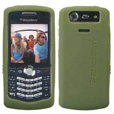 OEM NEW Olive Green Silicon Skin Case Cover Blackberry PEARL 8110 8120 8130