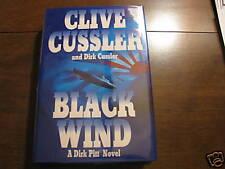BLACK WIND CLIVE&DIRK CUSSLER SIGNEDX2 NEW MINT TRUE 1