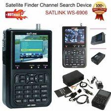 2018 SATLINK WS-6906 Profi Satfinder Digital DVBS FTA Sat Satellite Finder Meter