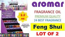 2 Aromar Aromatherapy Essential Fragrance 100% Concentrated Oil 2.2 FENG SHUI 2