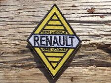A047 PARCHE ESCUDO TERMOADHESIVO aufnäher toppa RENAULT coche automóvil sport