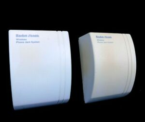 Radio Shack Wireless Phone Jack System Base  43-160 Extension 43-161