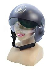 Jet Pilot Helmet Military Air Force Fancy Dress Costume Accessory