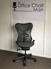 Herman Miller Mirra Triflex Back Executive Task Chair No Arms Or Tilt Lock 4 Ava