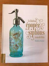"""Livre d'art - """"Siphons à eau de Seltz"""" F. Nortier - siphon - syphon - seltzer"""