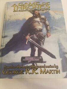 A GAME of THRONES George R.R. Martin excellent condition, includes MAP rpg