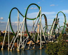 Incredible Hulk, The,Islands of Adventure 8x10 High Quality Photo Picture
