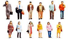 "Tomytec (Ningen 116) Model People ""Walking Pedestrians"" 1/150 N scale"