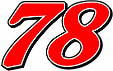 #78 Martin Truex Jr Racing Sticker Decal - Size SM to XL - Red or White or Blue
