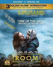 Room [Blu-ray + Digital HD], New DVD, Jacob Tremblay, Amanda Brugel, William H.
