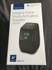 INSIGNIA VOICE ACTIVATED SPEAKER GOOGLE ASSISTANT NS-CSPGASP-B