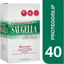 Saugella Cotton Touch Proteggislip Assorbenti Esterni Adesivi Antiodore, 40 Pz