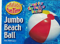 Inflatable GIANT 76cm PANEL Beach Ball Holiday Swimming Pool Summer Party Water