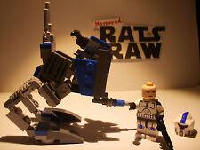 Lego Star Wars minifigures - Clone Custom 501st ARF Trooper + AT-RT
