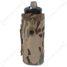 Multitarn Camo MOLLE Water Bottle Cover - Army Military Case Drinks Insulating