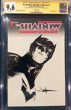 JAE LEE ORIGINAL Sketch Art CGC 9.6 BATMAN Dark Knight III #1 Signed not CBCS