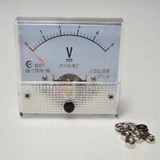 Arrival DC 0-5v 85c1 Voltmeter Gauge Analog Volt Voltage Panel Meter